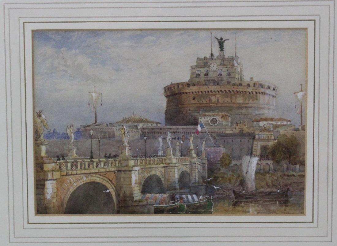 John Whitacre Allen Watercolor - 2