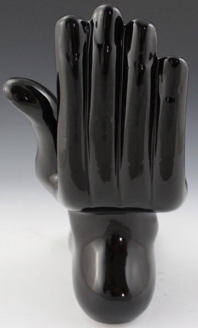 Pedro Friedeberg Ceramic Hand-Foot Sculpture - 4