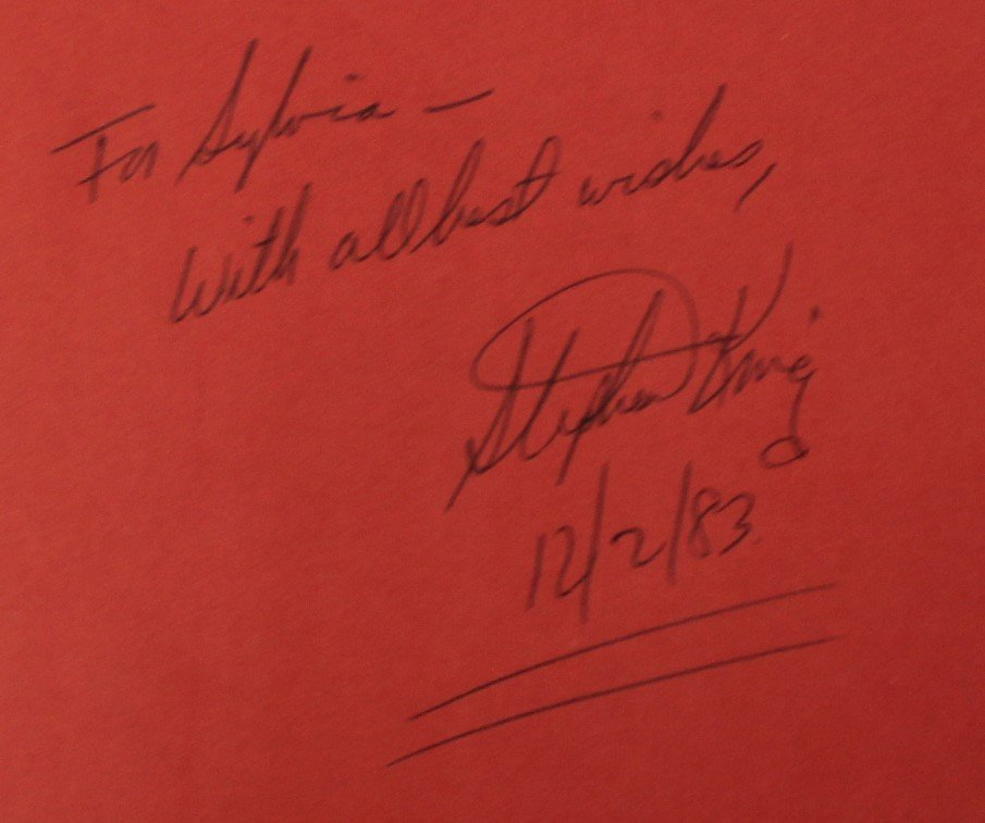 Stephen King Signed Book - 2