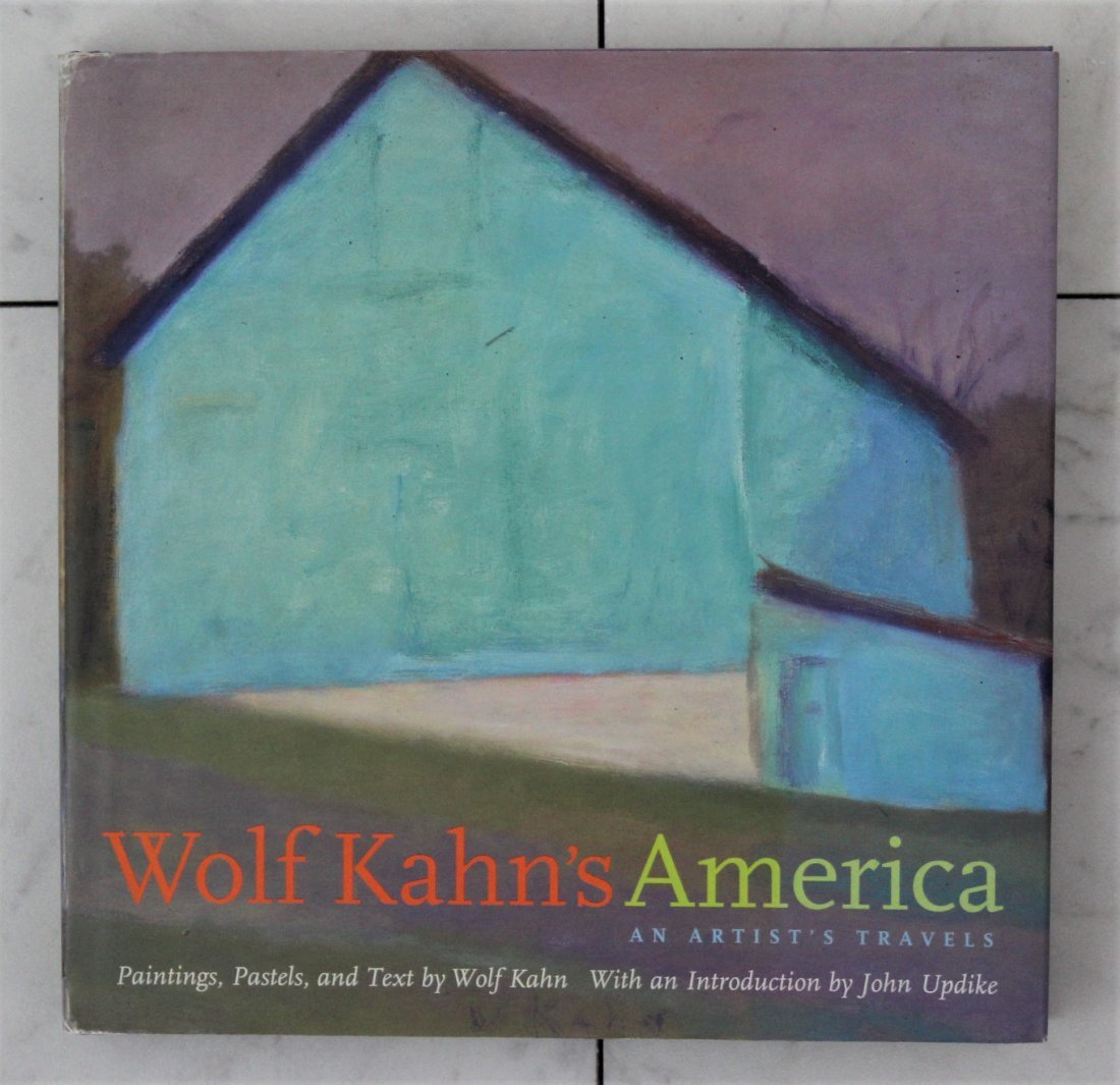 Wolf Kahn Signed book - 2