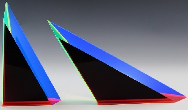 Vasa Mihich Optical Acrylic Sculpture - 5
