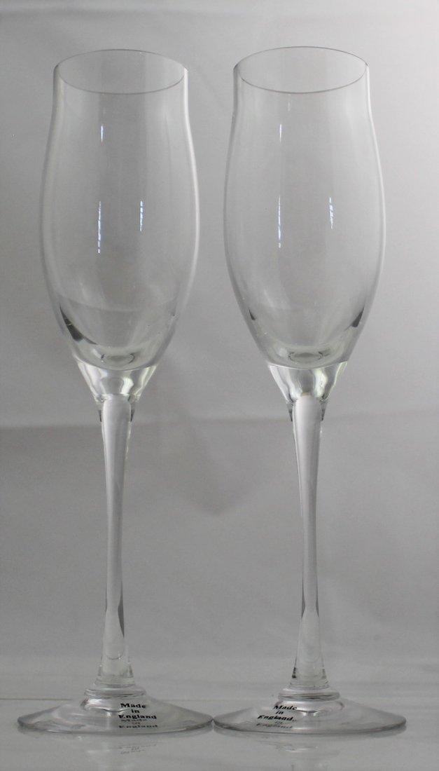 Cartier Champagne Flutes - 2
