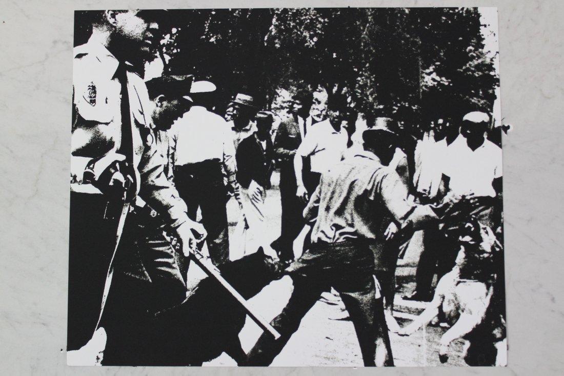Andy Warhol Birmingham Race Riot Screenprint