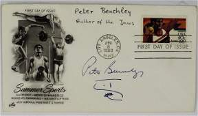 Peter Benchley Signed Drawing