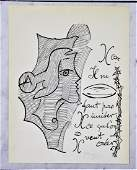 Georges Braque Signed Offset Lithograph