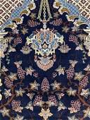 Very Fine Hand Woven Silk & Wool 6 La Nain 7.5x5 ft