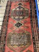 Semi Antique Hand Woven Persian Kurdish 95x38 ft