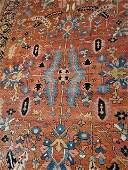 Antique Hand Woven Persian Serapi 7.8x11.4 ft