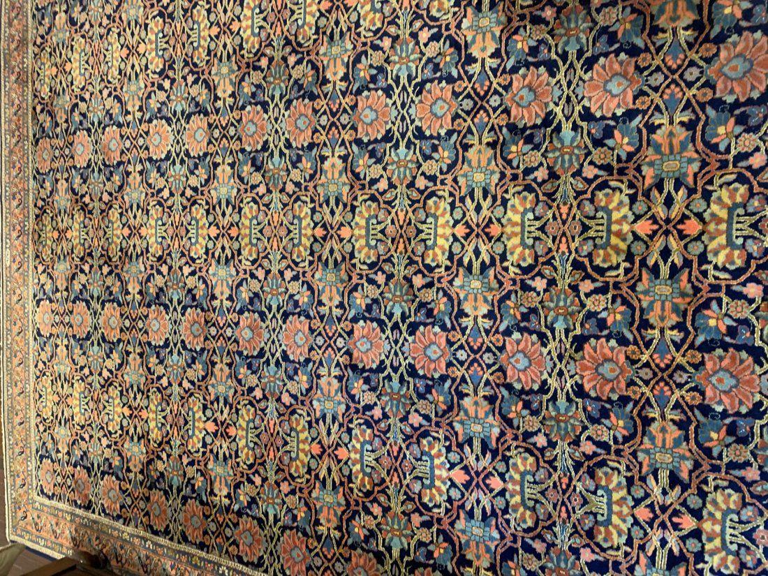 Semi Antique Hand Woven Persian Bijar 8.5x11.5  ft