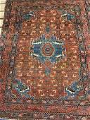 Semi Antique Hand Woven Persian Lilihan 67x52 ft