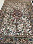 Semi Antique Hand Woven Persian Sarouk   5.4x3.6 ft