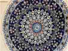 Semi Antique Hand Woven Persian Nain 3x3 ft