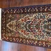 Hand Woven Persian Sarouk 2.5x4.4 ft