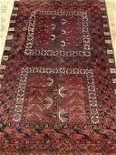 Semi Antique Hand Woven Persian Hatchli 54x87 ft