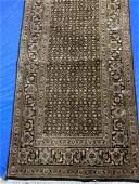 Semi Antique Hand Woven Indo Tabriz 95x24 ft