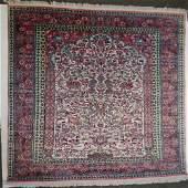 Semi Antique Hand Woven Persian Hereke Silk 6x4ft