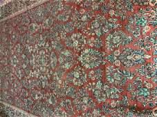 Semi Antique Hand Woven Persian Sarouk 103x164 ft
