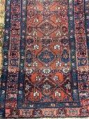 Semi Antique Hand Woven Persian Hamedan 5.4x3.4 ft