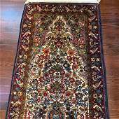 Semi Antique Hand Woven Persian Sarouk 25x44 ft