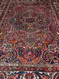 Antique Hand Woven Persian Bahkterie 11x15 ft