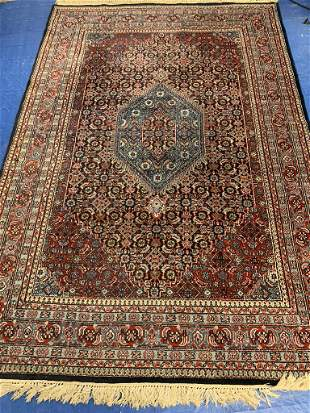 Hand Knotted Persian Indo Tabriz 9.7x6 ft