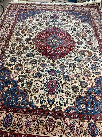 Hand Knotted Persian Tabriz 9x12 ft