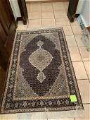 Semi Antique Hand Woven Persian Tabriz 3x5 ft