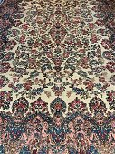 Hand Knotted Persian Kermen 13.7x9.8 ft