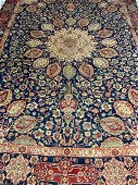 Hand Knotted Persian Kashan 12.1x9.1 ft