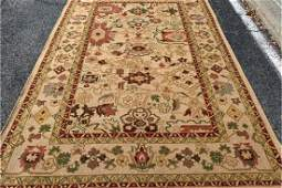 Hand Knotted Persian Agra Heriz 5x8 ft