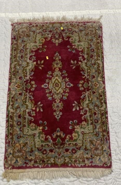 Hand Knotted Persian Kermen 3.2x2 ft