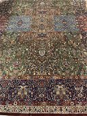 Hand Knotted Indo Tabriz 9x12 ft