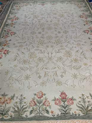 Hand Knotted Agra Rug 11.10x8.4 ft .Free Shipping