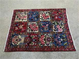 Hand Knotted Persian Sarouk 5.2x3.5 ft .Free Shipping