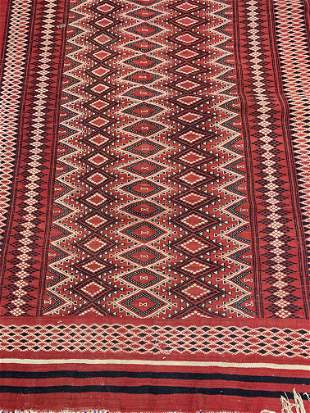 Hand Knotted Persian Flat Woven 5x8 ft .Free Shipping