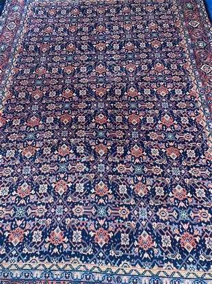 Hand Knotted Persian Sarouk 8x11 ft .Free Shipping