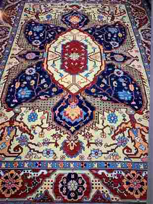 Hand Knotted Heriz Rug 10x12 ft .Free Shipping