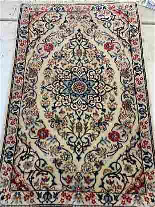 Hand Knotted Persian Nain 2x3 ft .Free Shipping
