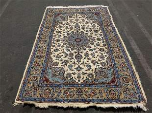 Hand Knotted persian Kashan 4.7x7 ft Free Shipping