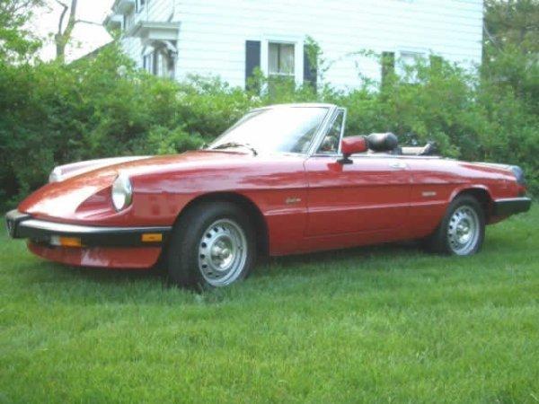 1: 1988 Alfa-romea Graduate Convertible