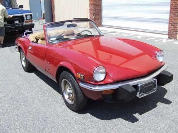 3: 1975 Triumph Splitfire Convertible