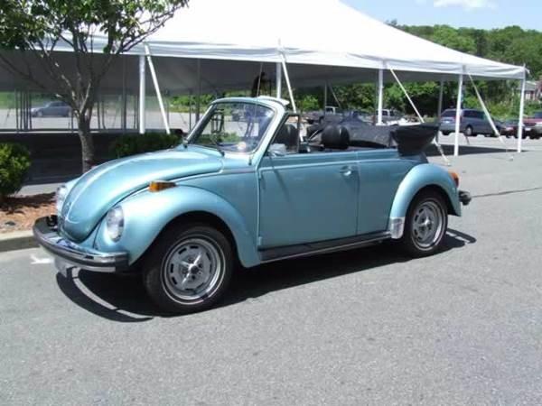 11: 1979 Volkwagon Beetle Conv