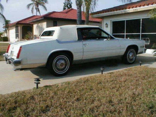 13: 1984 Cadillac El-dorado Barritz Convt.