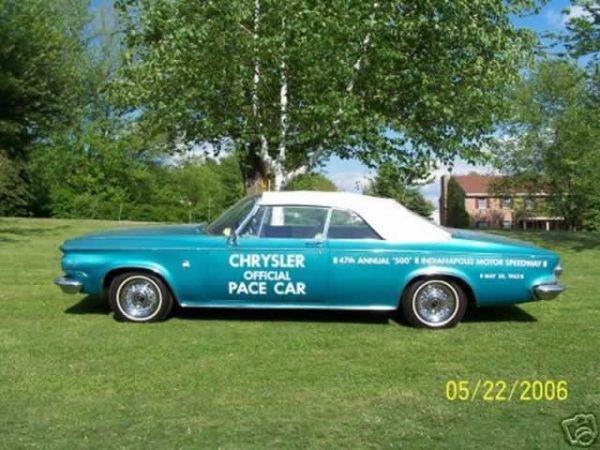 16: 1963 Chrysler 300 Pacesetter Convertible
