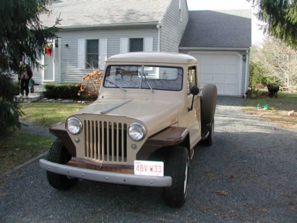 19: 1948 Jeep Willys Overland Plus