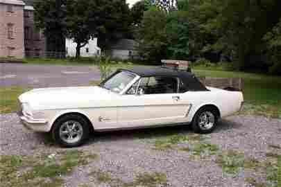 55: 1965 Ford Mustang Conv