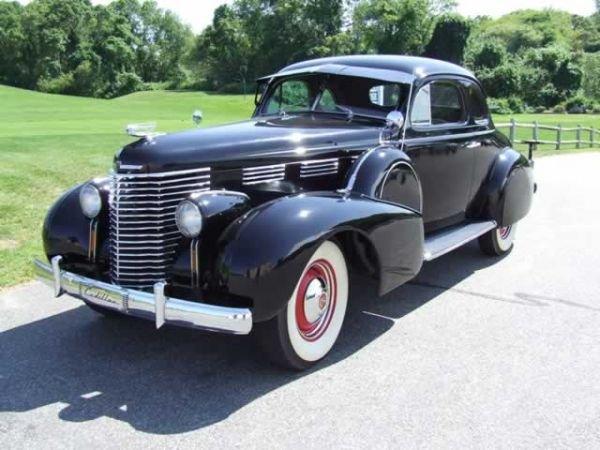 1600: 1938 Cadilac Opera Coupe