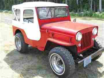 5I: 1954 Jeep CJB