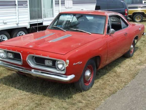 13I: 1967 Plymouth Barracuda