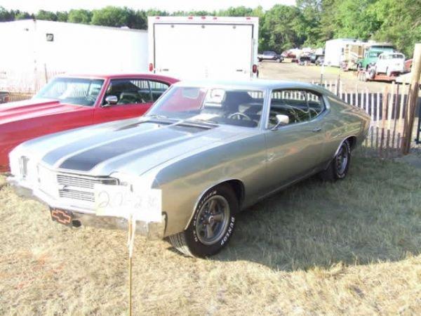 201: 1971 Chevrolet Chevelle Malibu